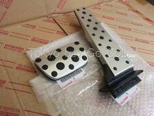 Lexus GS250 GS350 GS450h F-Sport Aluminum Pedal Set NEW Genuine OEM 2006-2013.9