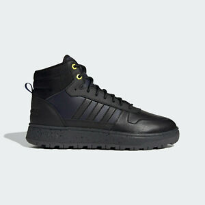 adidas Mens Frozetic Comfort Basketball Boots Black and Navy