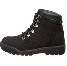 Timberland Youth's 6-Inch Field Boots (PS) NEW AUTHENTIC Black 44790