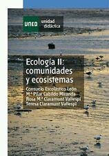 UNED Ecología II: Comunidades y Ecosistemas, eBook, 2013