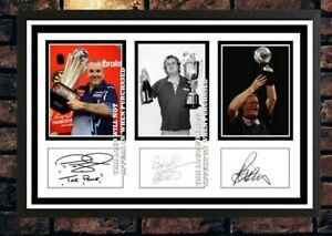 (508) taylor bristow barneveld darts signed photograph unframed/framed reprint