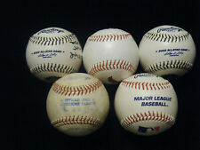 4 Rawlings Brewers American League autographed baseballs 1 St. Louis Cardinals