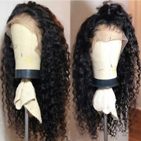 Top Brazilian Virgin Human Hair Wigs Silk Base Full Lace Wigs Deep Wave Curly sm