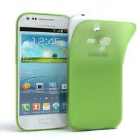 Schutz Hülle für Samsung Galaxy S3 Mini Cover Handy Case Matt Grün