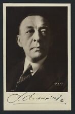 Sergei Rachmaninoff (Composer): Signed Hrand of Paris Portrait Photograph