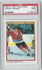 1990 O-Pee-Chee OPC Jeremy Roenick #100 PSA Mint 9 Hockey Rookie Card