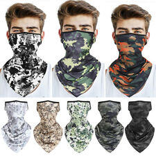Camouflage Balaclava Tube Scarf Bandana Ear Neck Face Headwear Loops Mutil Use