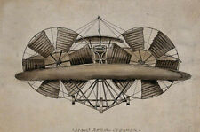 The Flying Machine of Thomas Moy : c1900s : Archival Quality Art Print