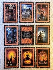 Set of 9 Cards~Halloween Spooks~Pocket Pen Pal Cards only~No Protector~#135N