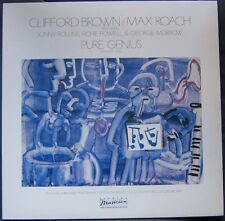 CLIFFORD BROWN MAX ROACH (LP 33 Tours)  PURE GENIUS VOLUME ONE