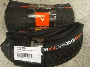 BMX folding tyres set front and rear 2.2 KHE MAC