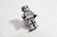 Retro Robot Lapel Pin, Tie Tac Brooch Retro Geekery Rockem Sockem Robotics