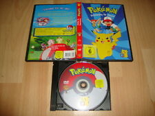 POKEMON POKÉMON ENTSCHEIDUNG FÜR PIKACHU! IN DVD USED COMPLETE GERMANY VERSION