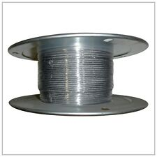 "5/32"" (.156) X 500' STAINLESS STEEL T304 AIRCRAFT CABLE REEL 7x19 Wire Rope"