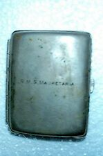 R.M.S. MAURETANIA Vintage Cigarette Case-J.M.B. England RARE