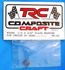 """TRC 1/4"""" x 3/8"""" Plain Bearing Pour à l'intérieur Of Engrenage 5686 modélisme"""