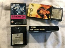 4 Rare BETAMAX Tapes-Diana Ross In Concert-Firestarter-All About Eve-NOT VHS