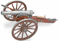 American Civil War Miniature 12 Pounder Cannon Dahlgren Guns Naval Artillery