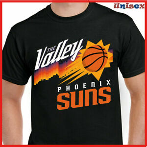 NEW!! 2021 Phoenix Suns City Edition The Valley Story N.B.A T Shirt
