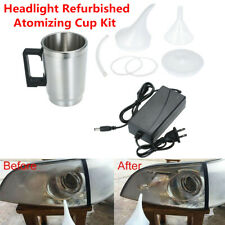 Car Headlight Lens Polish Repair Tool Atomizing Cup Restoration Auto Restore Kit