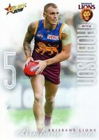 ✺New✺ 2019 BRISBANE LIONS AFL Card MITCH ROBINSON Footy Stars