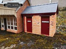 G scale station toilets Gauge 3 garden railway