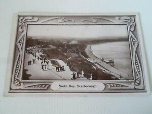 SCARBOROUGH, North Bay+Pier - Nostalgic Old Postcard Franked 1909  §F1213
