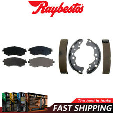Raybestos Front Rear Ceramic Brake Pads & Brake Shoes For 2002-2006 Sentra
