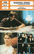 Fiche Cinéma. Movie Card. The Basketball Diaries (USA) Scott Kalvert 1995