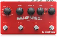 TC Electronic Hall de Fame 2 X4 Multi Pedal de Efeitos de Guitarra Reverb