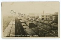 RPPC Erie Railroad Yards KANE PA McKean County Pennsylvania Real Photo Postcard