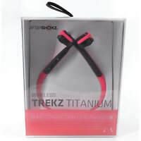 AfterShokz Trekz Titanium Headphones Bluetooth Stereo, Pink (AS600PK)