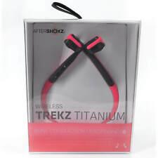 AfterShokz Trekz Auriculares Bluetooth Estéreo, Rosa de titanio (AS600PK)