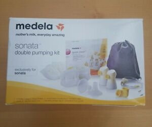 MEDELA MOTHERS MILK EVERY DAY AMAZING SONATA DOUBLE BREAST PUMP PUMPING KIT