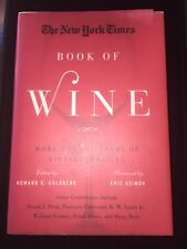 Wine Book The Ny Times More Than 30 Years of Vintage Hardcover Info Pristine Big