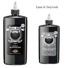 Moms Millennium Black Pearl Liner & Greywash Shading Tattoo Ink 35ml
