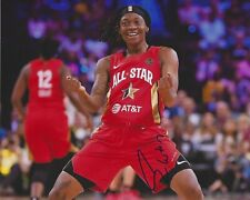 ERICA WHEELER Signed 8x10 Photo INDIANA FEVER Basketball WNBA All Star Game MVP