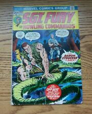 Sgt. Fury & The Howling Commandos  #112 Jaws Of The Jungle  Marvel Comics 1973