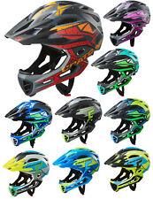 Cratoni C-Maniac Pro Fullface Downhill BMX Helm Fahrradhelm Kinnbügel abnehmbar