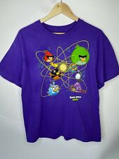 Angry Birds Purple Unisex T-Shirt.  Size XL