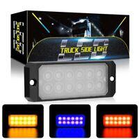 LED Auto LKW Frontblitzer Blitzlicht Warnleuchte Notfall Strobe Licht 12/24V 36W