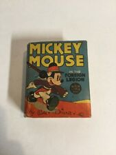 Mickey Mouse In The Foreign Legion Fn Fine 6.0 Big Little Books 1428