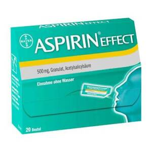Aspirin Effect Granulat · 20 St · PZN 01743631