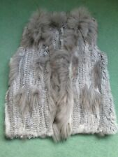 Rabbit and Racoon Fur Gilet