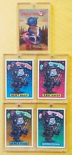 LOT of 5: LUIS DIAZ ART CARDS GAVAGE PARODY KIDS & SIGNED MHOPONHOP PROMO RARE!