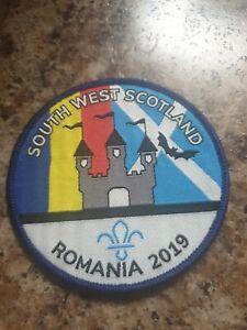 South  West Scotland   Romania 2019 Scout Badge