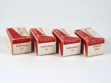 4 Tru-Vue 3D Film Strips YELLOWSTONE NP + NIAGARA FALLS Unnumbered Stereoviews