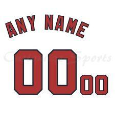 Los Nacionales de Washington de Béisbol Blanca Home Jersey número Personalizado Kit un-stitch