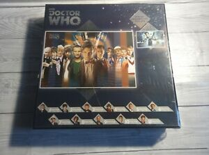 Doctor Who BBC Special Anniversary Edition Jigsaw - The Doctors - 500 Piece. New