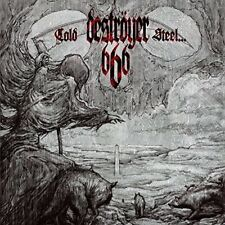 Destroyer 666 Cold Steel Or An Iron Age (Blk) (Cvnl) (Gate) vinyl LP NEW sealed